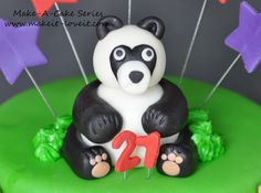 Make-a-Cake Series: Panda and Bamboo | Make It and Love It