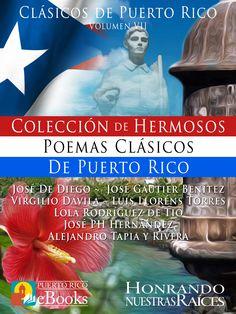 Puerto Rico es un refrescante manantial de Poetas, Escritores, Autores, Pintores, Artistas que nos llenan el alma de estas frescas corrientes de melodías. Estos Hermosos Poemas de Puerto Rico están dedicados a la Patria, al Pueblo, al Amor, a la Belleza de la Mujer Puertorriqueña. Los invitamos a que sientan ese gran universo de sentimientos que estos grandes poetas nos dejaron plasmados en sus escritos. #puertorico #boricuas #puertorriqueños #cultura #ebooks