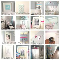 Cute baby room project ideas
