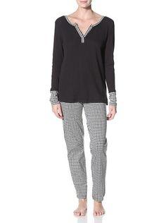 46% OFF 40 Winks Women's V-Neck Longsleeved Pajama Set