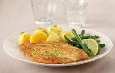 Queens Fish °°°°°°°°°° Klaas' gebakken schol met knoflookmayo, krieltjes en boontjes – Queens Vis °°°°°°°°°° http://queensfish.nl/recepten/klaas-gebakken-schol-met-knoflookmayo-krieltjes-en-boontjes/