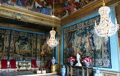 Tapestry inside Chateau de Vaux-le-Vicomte