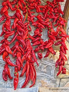 Red peppers of Florina, West Macedonia