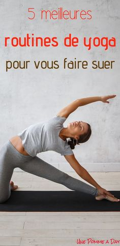 Parfois, on a besoin de suer un bon coup! Pourquoi alors ne pas combiner notre a… Sometimes, we need to sweat a good shot! Why not combine our love of yoga with our desire to let off steam? Here are 5 excellent free yoga sessions online to get you moving! Ashtanga Yoga, Yoga Restaurador, Yoga Flow, Yoga Inspiration, Fitness Inspiration, Fitness Del Yoga, Yoga Nature, Different Types Of Yoga, Fitness Motivation