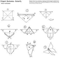 Oficina Do Origami Borboleta Akira Yoshizawa