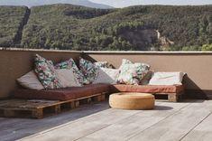 Come arredare un terrazzo spendendo poco - Terrazzo, Home, Design, Houses, Ad Home, Homes, Haus