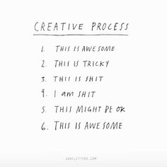 "Pella Hedeby (@pellahedeby) on Instagram: ""✔️  #embracetheprocess via ArcDaily #creativity #storyofmylife #visewords"""