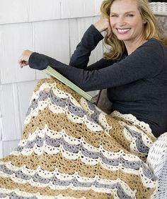Shell Clusters Lapghan  free  crochet  pattern Crochet Squares Afghan 0841dd842214