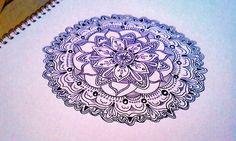 Free Your Mind (art,mandala,design,pen,drawing)