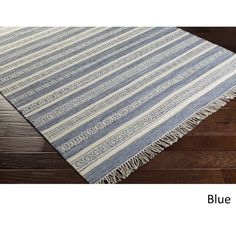 Hand-Woven Clarita Wool/Cotton Rug (8' x 10')