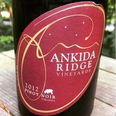Nittany Epicurean: 2012 Ankida Ridge Pinot Noir