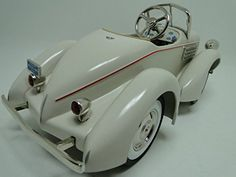 High End Collector Pedal Car Vintage 1930s Duesenberg Ant...
