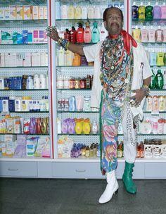 oblanc:    Paris Fashion Week  Zé das Medalhas photographed by Henrique Gendrein 1997