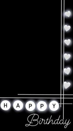Happy Birthday Template, Happy Birthday Frame, Happy Birthday Posters, Happy Birthday Wallpaper, Birthday Posts, Birthday Captions Instagram, Birthday Post Instagram, Creative Instagram Photo Ideas, Ideas For Instagram Photos
