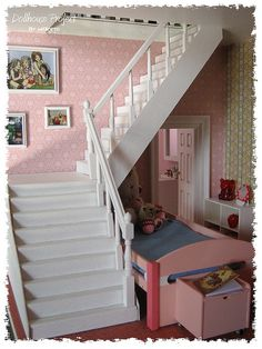 Dollhouse Project # Stairs | by Wanitodibelo