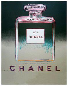 Warhol Chanel No.5 Grey