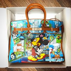 1d099caf17a2 Graffiti Custom Women Hand Painted bags painting poker totes ...