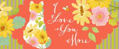 """I Love You More Mug by Edith Jackson-Designs 