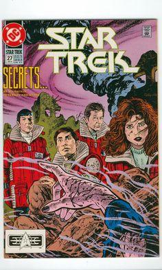 Star Trek Original Series Number 27 janvier 1992 DC Comics - Science Fiction - Vintage Comic - Star Trek - nouvelle génération - Sci-Fi