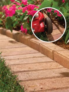 5 Easy Ways to Reduce Yard Work - A mowing border reduces grass trimming: http://community.familyhandyman.com/tfh_group/b/diy_advice_blog/archive/2013/05/13/five-easy-ways-to-reduce-yard-work.aspx