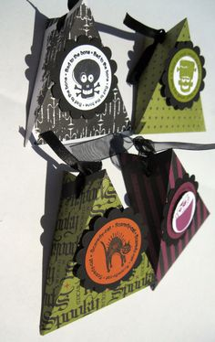 Halloween Treat Boxes Halloween Treat Bag