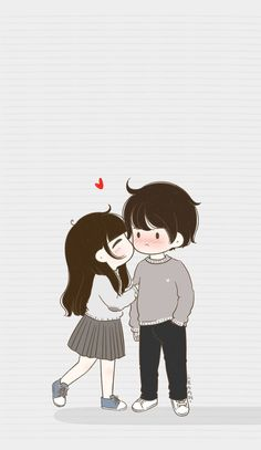 21 Ideas for baby ilustration cute pictures Cute Couple Pictures Cartoon, Cute Couple Drawings, Cute Love Cartoons, Cute Couple Art, Cartoon Pics, Cute Drawings, Couple Amour Anime, Anime Love Couple, Cute Anime Couples