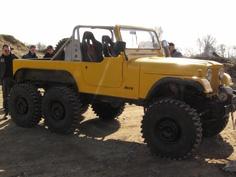6x6 stretched Jeep CJ