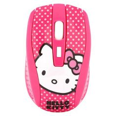 Hello Kitty Wireless Mouse - Pink (81509A-PNK) (*GASP* PINK!!! 19.99 at Target)