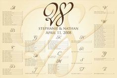 The Undeservedly-Infamous Seating Chart   Wedding Ideas and Planning Tips