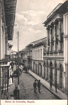image of Columbia. Street Scenes in Bogota. It was created in 1911 by Harris & Ewing. Old Pictures, Old Photos, Colombia Travel, The Beautiful Country, Historical Photos, Small Towns, South America, Street, World