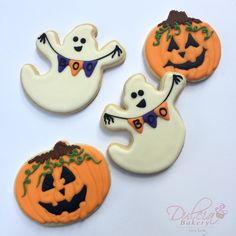 6 pc Halloween COOKIE CUTTERS Ghost Cat Bat Pumpkin Tombstone House Baking Forum