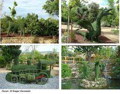 """""""El Bosque Encantado"""" 26.000m2 destinados a jardín botánico y parque temático con esculturas vegetales.  ¡El único parque en Europa de tales características! ¡Tienes que venir!"""