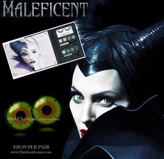 Maleficent contacts - Angelina Jolie eyes