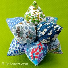 Urchin Pincushion by La Todera Sewing and Craft Patterns www.latodera.com