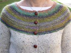NormaPatx's My first Cardigan Crochet Cardigan Pattern, Sweater Knitting Patterns, Knitting Designs, Knit Patterns, Knit Cardigan, Knit Crochet, Fair Isle Knitting, Loom Knitting, Hand Knitting