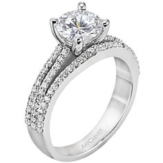 Very close to my engagement ring...I have a princess cut center ring