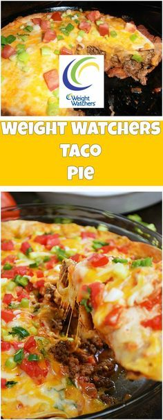 Weight Watchers Taco Pie | weight watchers recipes | Page 2