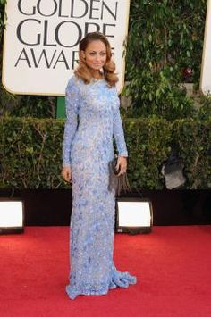 Nicole Richie in Naheem Khan at the 2013 Golden Globes