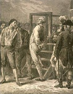 Danton STRUTTING to have his head chopped off. You who talk about swag have never met Danton!