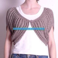 Corto, largo….hacelo como quieras…una idea genial para las que recién comienzan!!!!   Mi Rincon de Crochet