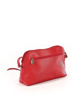 Liz Claiborne Red Crossbody Bag One Size - off Red Crossbody Bag, Working Woman, Affordable Clothes, Liz Claiborne, Zip Around Wallet, Product Launch, Belt, Handbags, Check