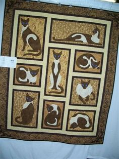 OH YES Cat Quilt! Siamese