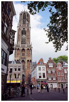 The Dom Tower, Utrecht, Netherlands http://www.travelbrochures.org/185/europa/escape-to-the-breathtaking-netherlands