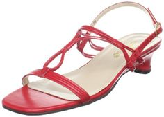 $31.47-$44.95 Annie Shoes Women's Whirl Low Dress Sandal,Red,8 W US -  http://www.amazon.com/dp/B00439LDJ6/?tag=icypnt-20