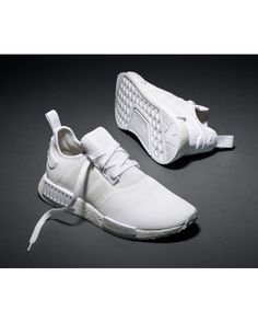 huge discount 4ce9c 5adbf Fashion Adidas Originals NMD White Men Shoes Hot Sale £55.60 Adidas Nmd  Triple White,