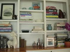 Image result for sitting room shelves