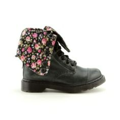 Journeys Dr. Martens Triumph Boot   Cute flower print. You can wear them two different ways.