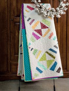 Serendipity from Modern Heritage Quilts by Amy Ellis - AmysCreativeSide.com