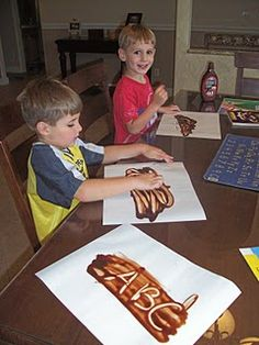 chocolate pudding spelling