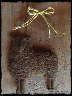 """""""MAKE DO DOLLS"""": How To Make Blackened Beeswax & Natural Beeswax Ornaments With Brown Bag Molds"""